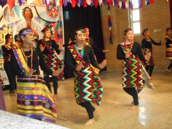 """The native dance of Mindanao, Philippines. When I see this in the church in Kuwait, I remember I am not alone here, they are my family."""