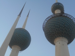 """My inspiration. The Kuwait Towers always refreshes my memory, and serves as a reminder to me. I visited this place with friends who are still here with me and friends who have left."" Delia.2"